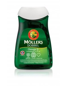 Möller's Dobbel Omega 3 112...