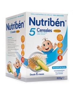Nutriben 5 cereales fibra...