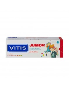 Vitis Junior Gel dental 75ml