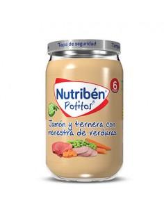 Nutribén Potitos Jamón y...