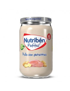 Nutribén Potitos Pollo con...